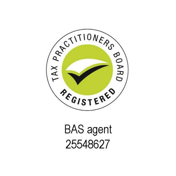 Tax Practitioners Board Registered BAS Agent Logo No 25548627